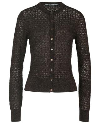 Button-up cardigan made in virgin wool and viscose blend DOLCE & GABBANA