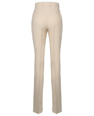Pantalon à pli en soie et laine mélangées GUCCI