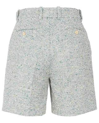 Short en coton mélangé avec plis GUCCI