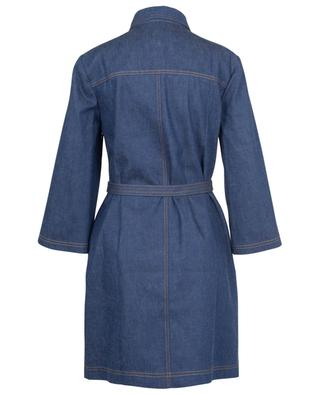 Robe courte en denim brodé Gucci Boutique GUCCI