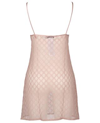Short tulle negligee with GG embroidery GUCCI