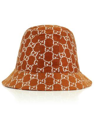 Bucket-Hut aus Wollmix mit GG-Logo GUCCI