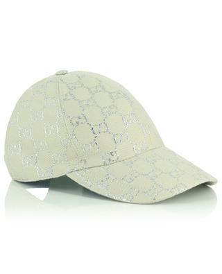 Baseballkappe aus Wollmix Lurex GG GUCCI