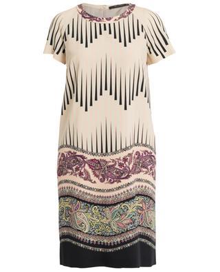 Kleid mit Print aus Wolle ETRO