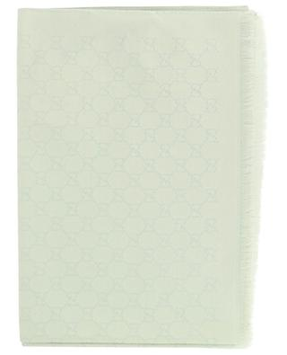 Stola aus Monogramm-Jacquard GG Lamé GUCCI