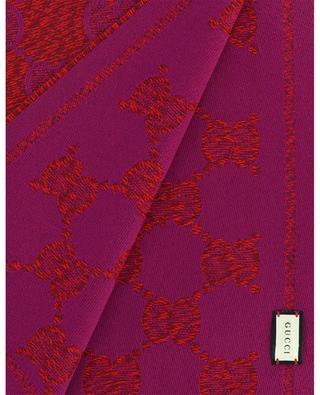 Jacquard-Schal aus Wolle mit GG-Motiv Lady GUCCI