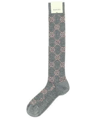 Chaussettes tricot avec logo en coton mélangé GUCCI