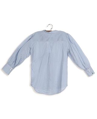 Mela striped puff sleeve shirt DESIGNERS REMIX GIRLS
