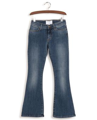 Ausgestellte Jeans aus ISKO Earth Fit-Denim Blossom Flare DESIGNERS REMIX GIRLS