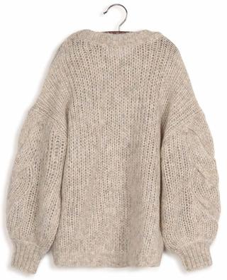 Antico boxy cable knit jumper in wool and alpaca DESIGNERS REMIX GIRLS