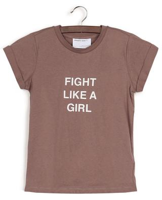 Stanley Fight slogan printed recycled cotton T-shirt DESIGNERS REMIX GIRLS