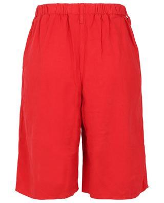 Kunatata linen and viscose twill oversize shorts AMERICAN VINTAGE