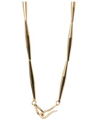 Lumia Helia long golden necklace TOHUM