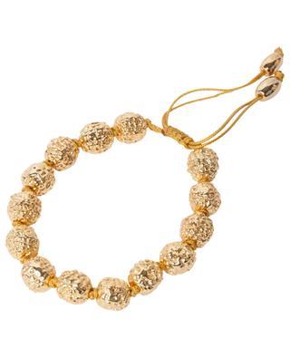 Bracelet doré en perles Rudraksha Resort TOHUM