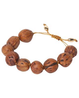 Lumia Resort wood bead cord bracelet TOHUM
