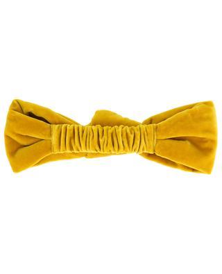 Velvet headband with knot detail GI'N'GI