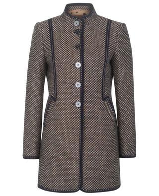 Blazer long en tweed à col montant MAISON COMMON