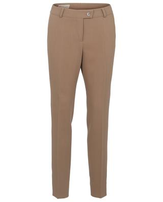 Virgin wool blend slim fit trousers MAISON COMMON