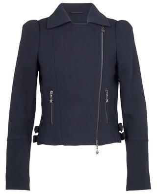 Moto jacket spirit virgin wool blazer MAISON COMMON