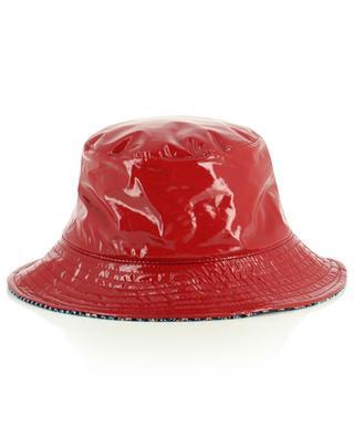 Wendbarer Hut in Vinyloptik und Karos GREVI