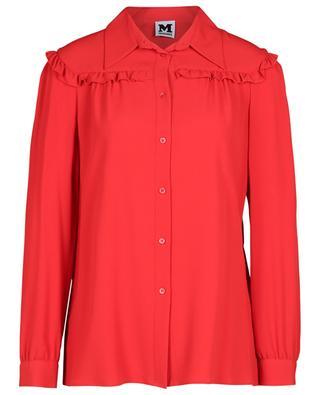 Ruffled crepe shirt M MISSONI
