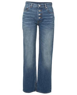 Lässige Jeans mit geradem Bein aus Biobaumwolle GANNI