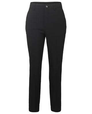 Heavy crepe straight fit trousers GANNI