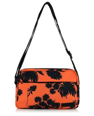 Flower printed nylon shoulder bag GANNI