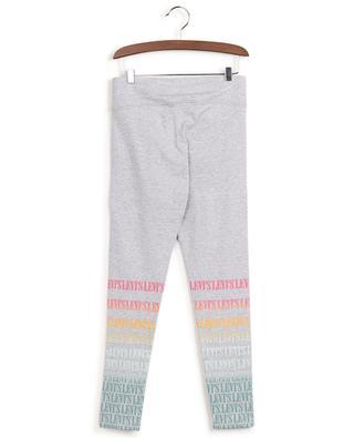 Legging taille haute en coton imprimé logo LEVI'S KIDS