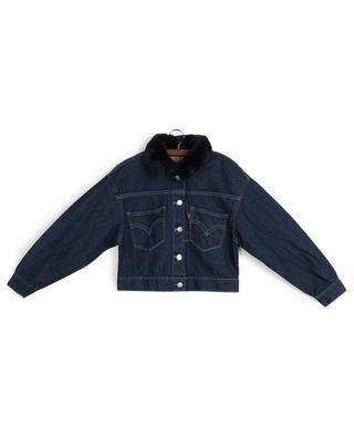 Veste en jean avec col en fausse fourrure Thames LEVI'S KIDS