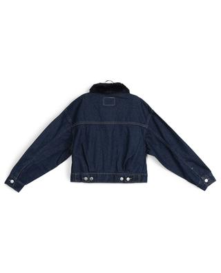 Thames faux fur collar denim jacket LEVI'S KIDS