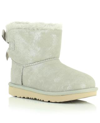 Bottines rembourrées scintillantes K Mini Bailey Bow II Shimmer UGG