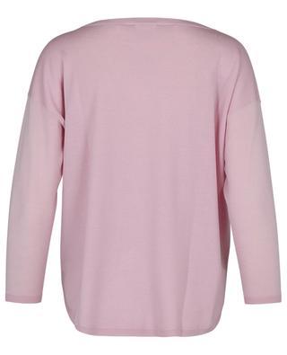 Feiner Boxy-Pullover aus Schurwolle AKRIS PUNTO