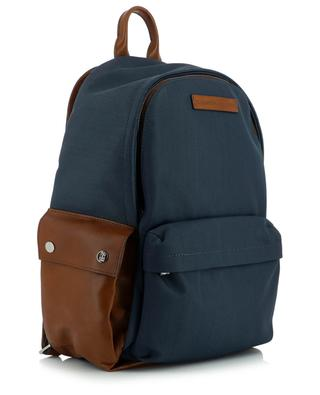 Leather and nylon backpack BRUNELLO CUCINELLI