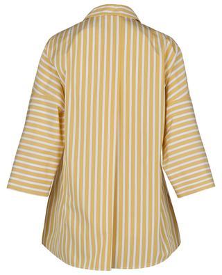 Weites gestreiftes Hemd aus Popeline AKRIS PUNTO