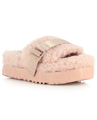 Pantoufles en peau lainée Fluffita UGG