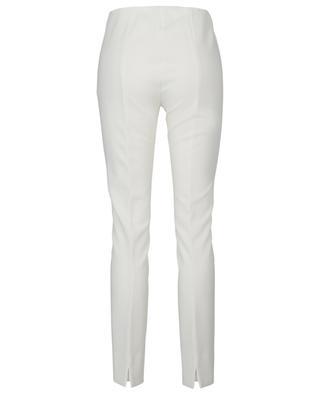 Skinny-Fit-Hose mit hoher Taille aus Lyocell Milena AKRIS PUNTO