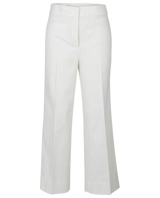 Chieko white-leg high-rise jeans in white AKRIS PUNTO