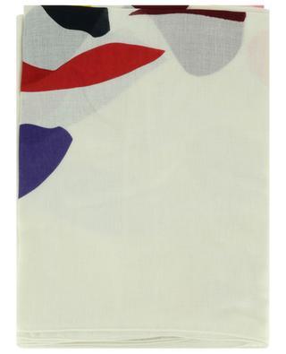 Schal aus Modal und Viskose mit Terrazzo-Print AKRIS PUNTO