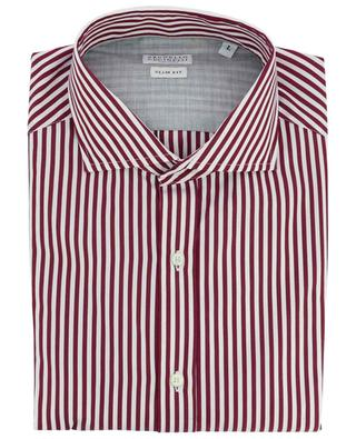 Striped slim fit cotton shirt BRUNELLO CUCINELLI