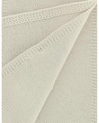 Écharpe en laine vierge unie IL TRENINO