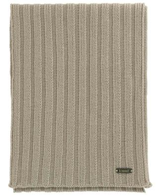 Écharpe côtelée en laine vierge IL TRENINO