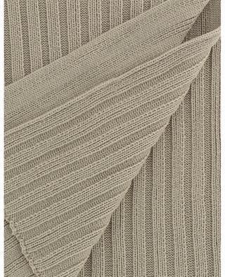 Virgin wool rib-knit scarf IL TRENINO