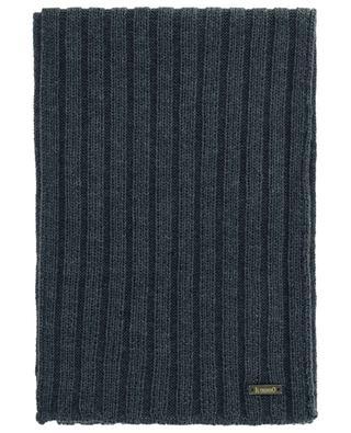 Gerippter Schal aus Schurwolle IL TRENINO