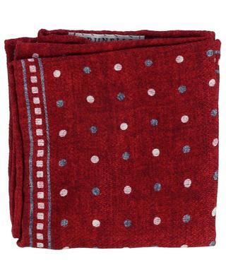 Silk dotted pocket square BRUNELLO CUCINELLI