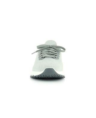 Cotton and leather sneakers BRUNELLO CUCINELLI