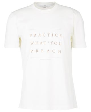 Practice What You Preach T-shirt BRUNELLO CUCINELLI