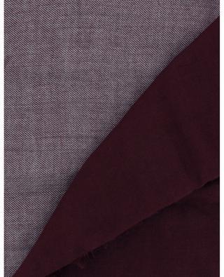 Cashmere and silk colour block scarf BRUNELLO CUCINELLI