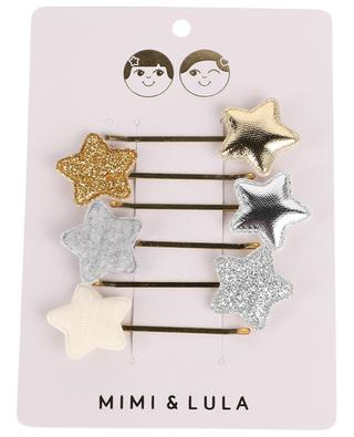 Set mit 6 Stern-Haarclips Circus Star Kirby Grip MIMI & LULA LIMITED