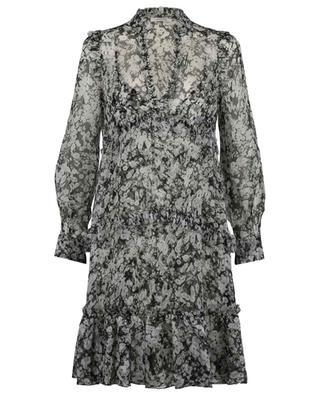 Robe courte en mousseline effet froissé Shimmering Flower DOROTHEE SCHUMACHER